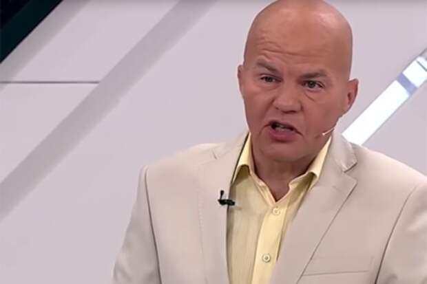 Украинский политолог Ковтун сам попросил выгнать его со съемок передачи