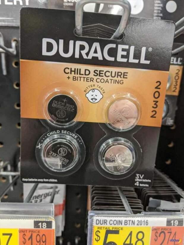 Респект Duracell!