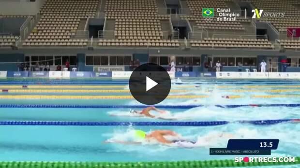 Rumo a Tóquio! Guilherme Costa se classifica para os Jogos Olímpicos nos 400m Livre Masculino - Pré-Olímpico de Natação (19/04/2021)