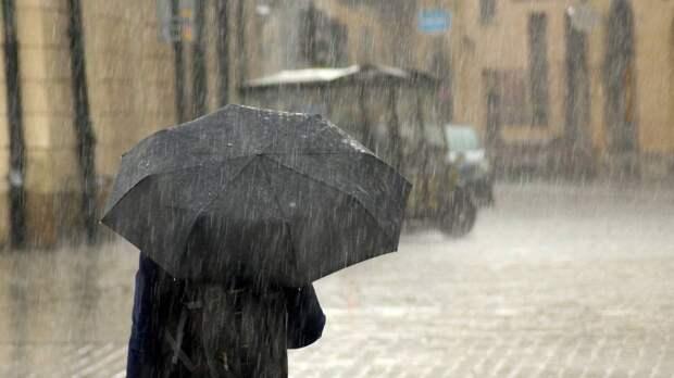 Рабочая неделя в Петербурге начнется с дождей