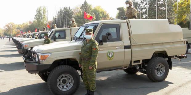 Укрепить границы: Кыргызстан закупил 40 единиц боевой техники