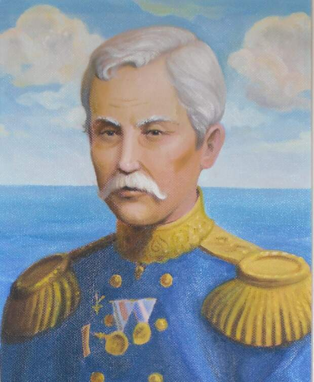 Мореплаватель Бабкин Василий Матвеевич. Изображение взято из открытых источников
