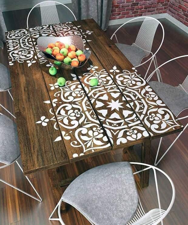 Три идеи как обновить стол