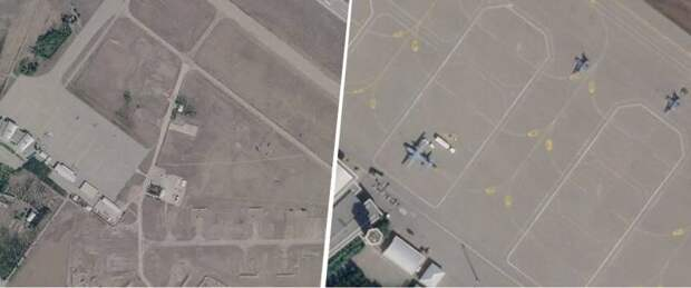 Спутниковые снимки: в прессе США заявили о доказательстве присутствия истребителей F-16 в Азербайджане.
