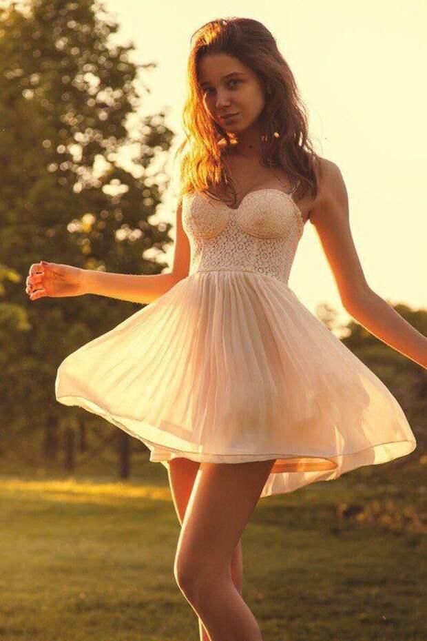 Летние девушки (49 фото) | Милые платья, Летние девушки, Быть девушкой