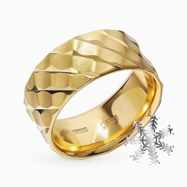 Кольцо «Юверос», желтое золото