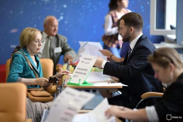 Венедиктов рассказал об очередях на «дачных» избирательных участках/mos.ru