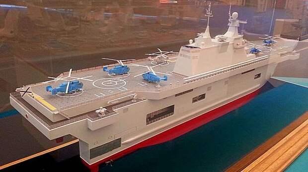 Military Watch: Два строящихся российских десантных авианосца могут стать крупнейшими в мире