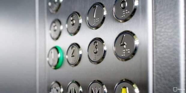 В доме на Башиловской грузовой лифт привели в порядок