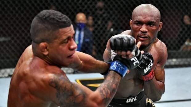 17-я победа подряд и третья защита титула: как Усман нокаутировал Бёрнса и превзошёл рекорд Сен-Пьера на UFC 258