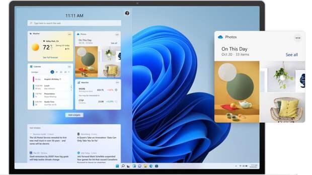 В Microsoft объяснили дизайнерские решения Windows 11
