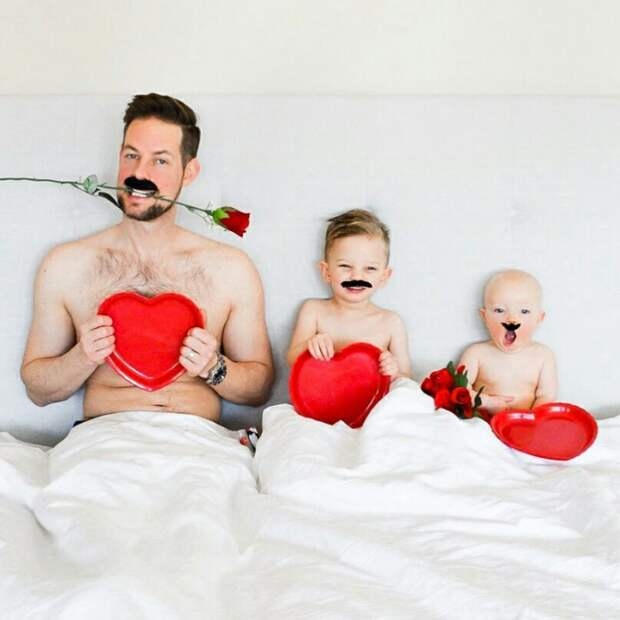 Семейные забавные идеи фото (подборка)