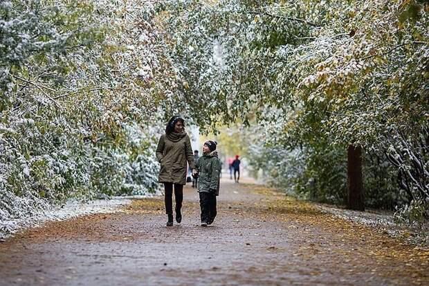 Ниже нуля: В Москву идет похолодание