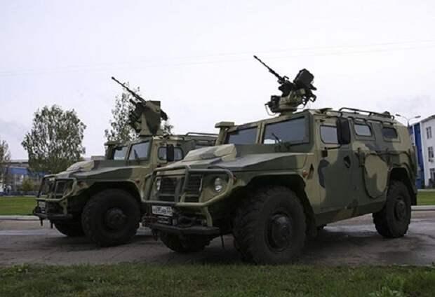 «Тигры» на охоте: спецназ получил новейшие бронемашины «Тигр-М СпН»