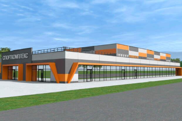 В одноэтажном здании будет бассейн и гимнастический зал / Фото: stroi.mos.ru
