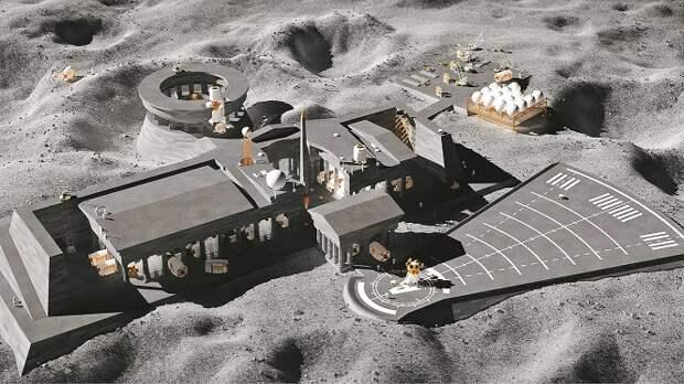 Мочу астронавтов планируют использовать для постройки лунной базы