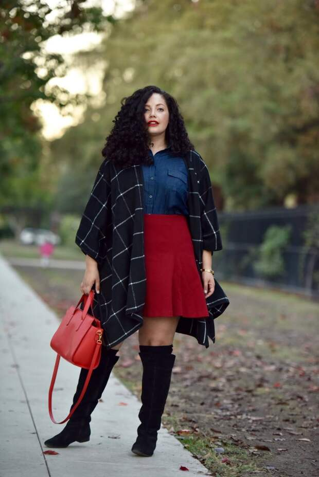 Мода для полных осень-зима 2021