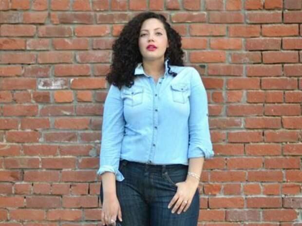 Джинсы-бойфренды: удачное решение для полных женщин
