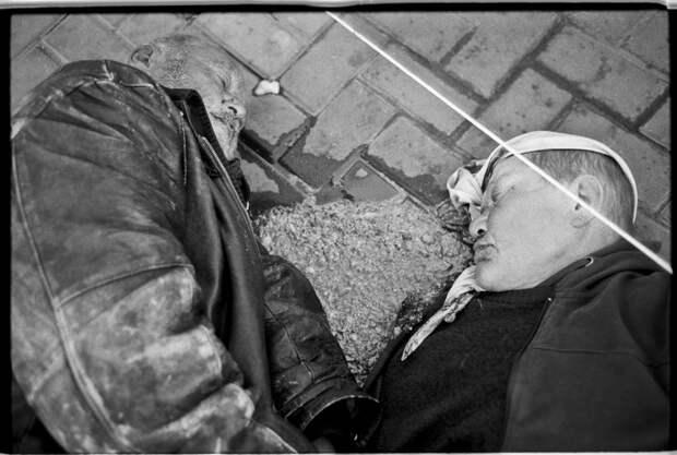 Суровые кадры из российской глубинки Петра Барабака