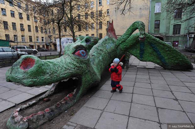 Необычные памятники в Санкт-Петербурге, ч.3