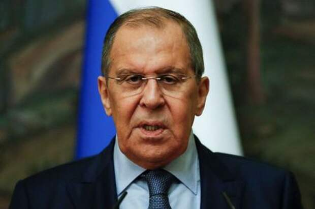 Russian Foreign Minister Sergei Lavrov attends a news conference following a meeting with Libyan Foreign Minister Najla Mangoush in Moscow, Russia August 19, 2021. Maxim Shipenkov/Pool via REUTERS