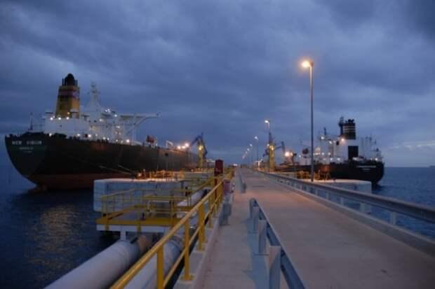 Ливия танкеры экспорт нефти