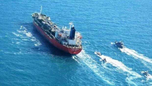 Иран перехватил южнокорейский нефтетанкер вПерсидском заливе