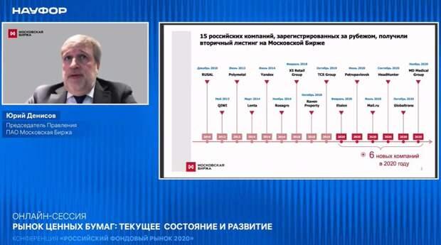 Вторичный листинг на Мосбирже существенно повышает ликвидность компаний