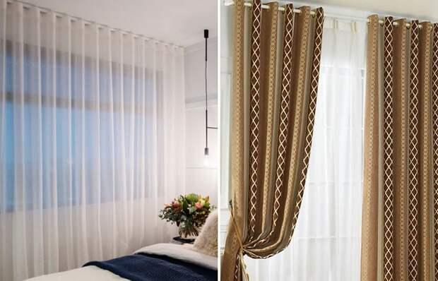 Как выбрать шторы для комнаты с низким потолком и избежать распространенных ошибок