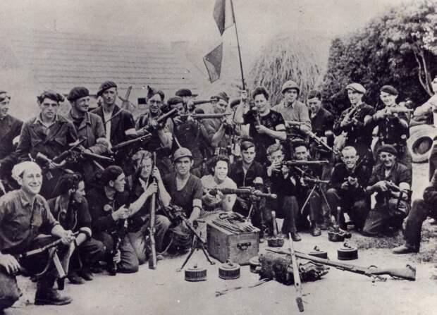 Французские партизаны. /Фото: ross-bel.ru