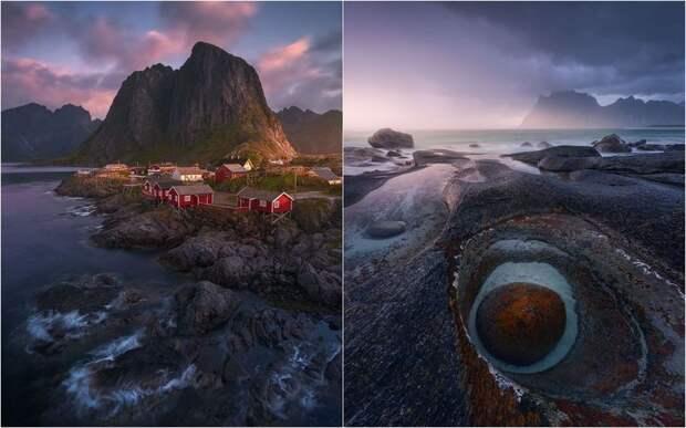 Скандинавская сказка: живописные пейзажи Норвегии в объективе Ханса Гуннара Аслаксена