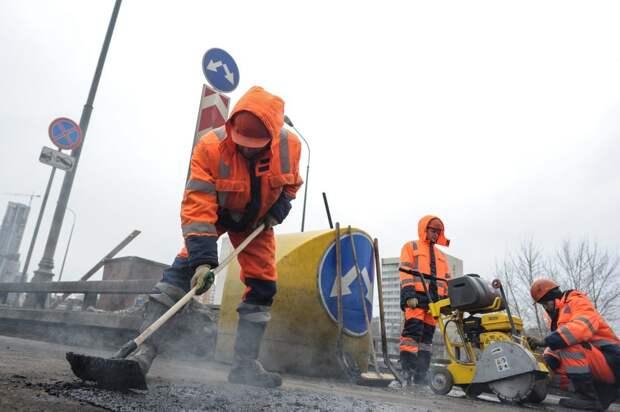 Первый этап ремонта Строгинского моста завершен