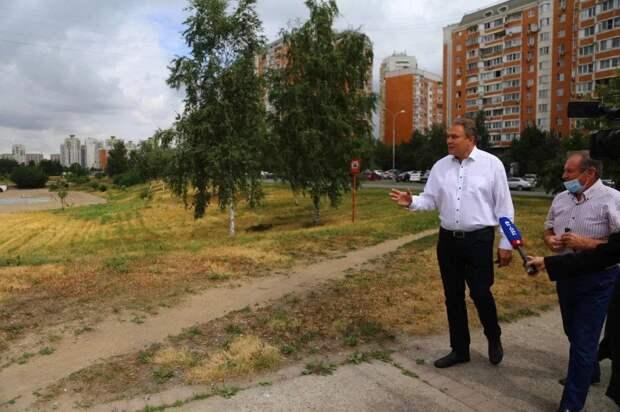 Петр Толстой: Благоустройство сделает пруды-регуляторы в Марьине приятным местом для отдыха