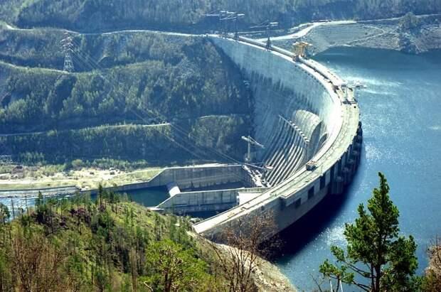6 место. Саяно-Шушенская ГЭС им. П. С. Непорожнего гидроэлектростанции, сооружения, топ-10