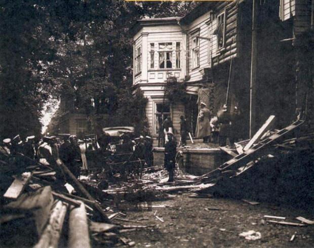 Дача после первого покушения на Столыпина