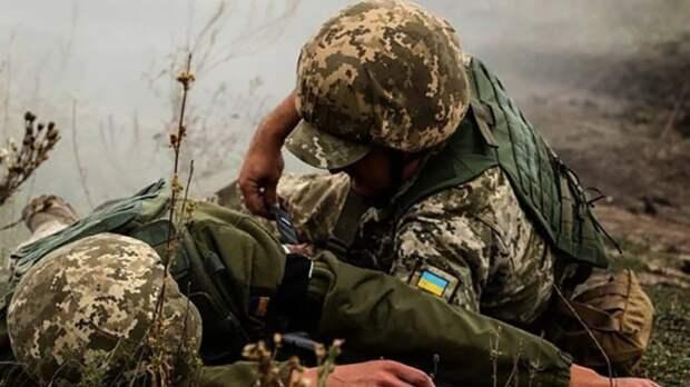 Провокация потерпела фиаско: каратели ВСУ подорвались на собственной мине