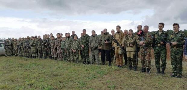 Активисты «СКВРиЗ» на полевых учениях