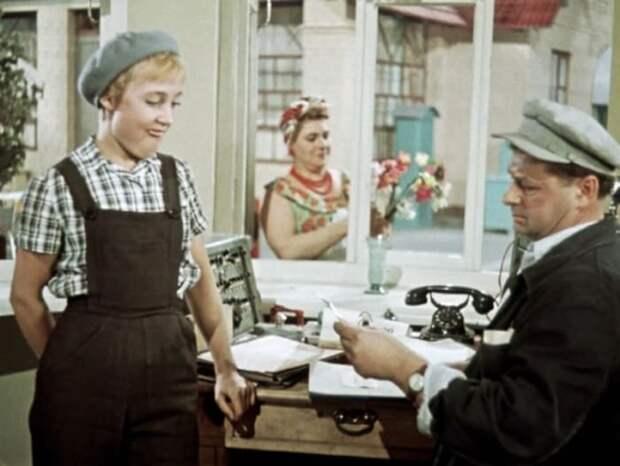 Кадр из фильма *Королева бензоколонки*, 1962 | Фото: fishki.net