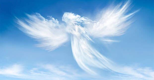 Трудная работа у ангелов!