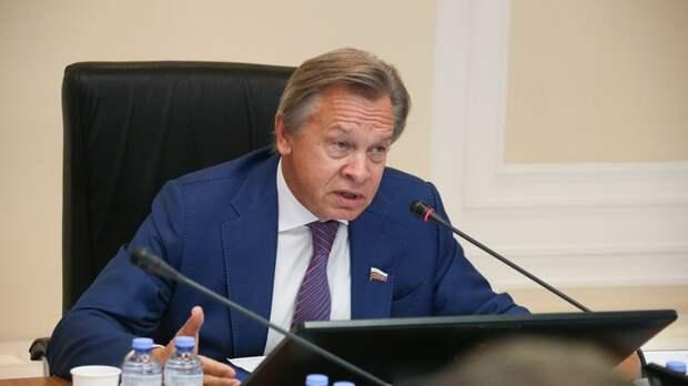 Пушков рассказал об истерии Запада из-за Калининграда