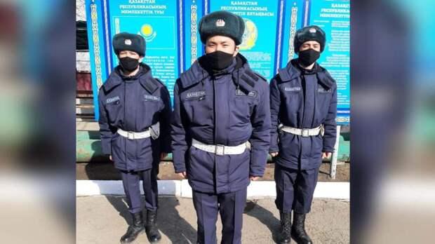 Задержан подозреваемый в нападении с разбитой бутылкой на гвардейцев в Петропавловске
