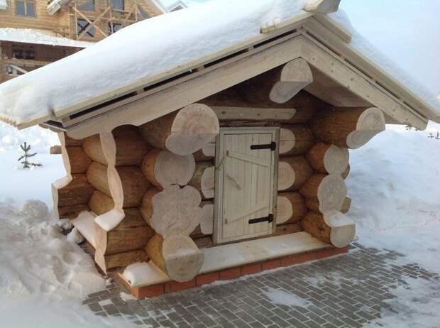 Куркуль: Рубленый дом за 500 тысяч рублей