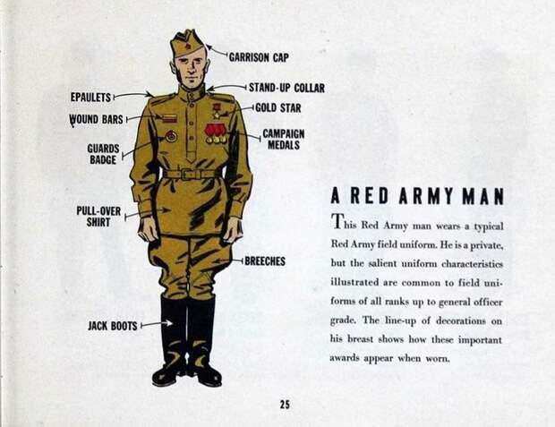 Инструкция 1945 года солдата США для общения с красноармейцем. Союзники СССР, США, Инструкция, История, Длиннопост