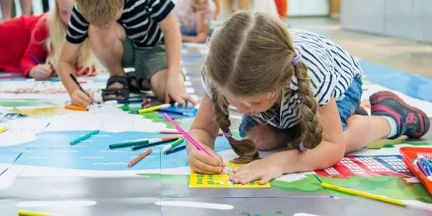 В парках Москвы открылись творческие и спортивные программы для детей — Сергунина / Фото: mos.ru