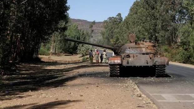 Вооружëнная группировка захватила округ назападе Эфиопии