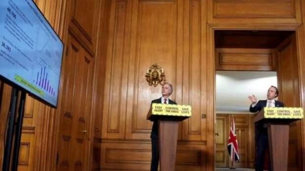 Правительство Великобритании отменяет ежедневные брифинги по коронавирусу