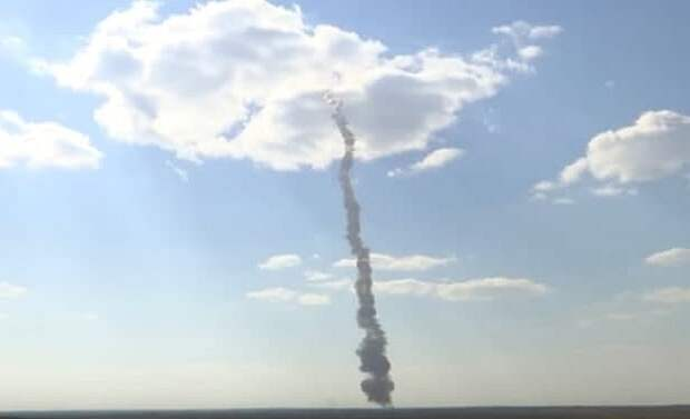Минобороны опубликовало видео испытаний новой ракеты системы ПРО