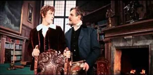 """Кадр из фильма """"Алые паруса"""". Мосфильм, 1961."""