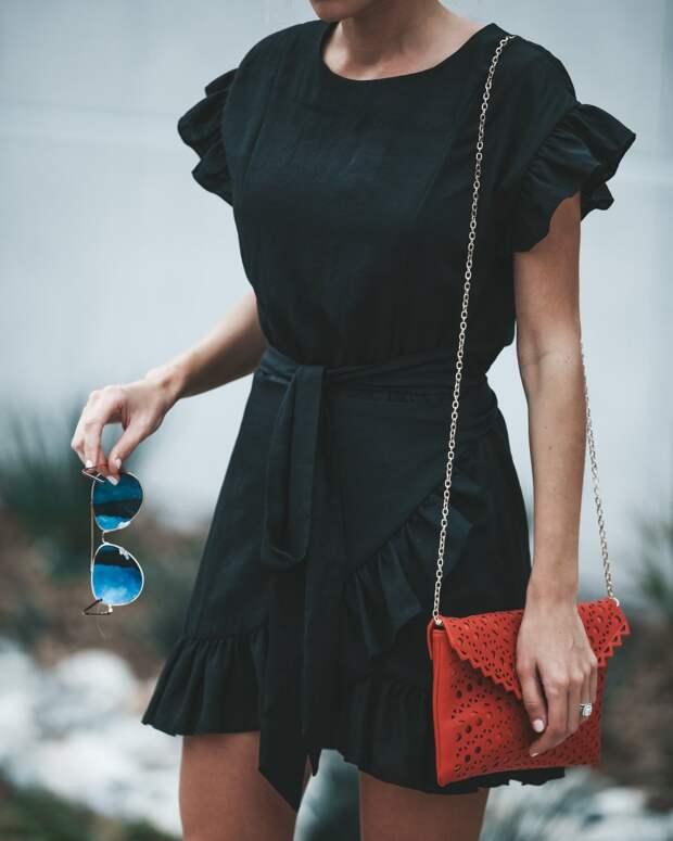 Платье с коротким рукавом фото 2