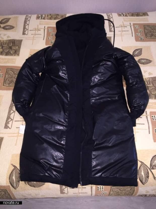 Зимнюю верхнюю одежду нужно стирать, во-первых, в вывернутом наизнанку состоянии...